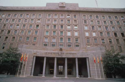 Ministerio de Defensa, en Madrid.