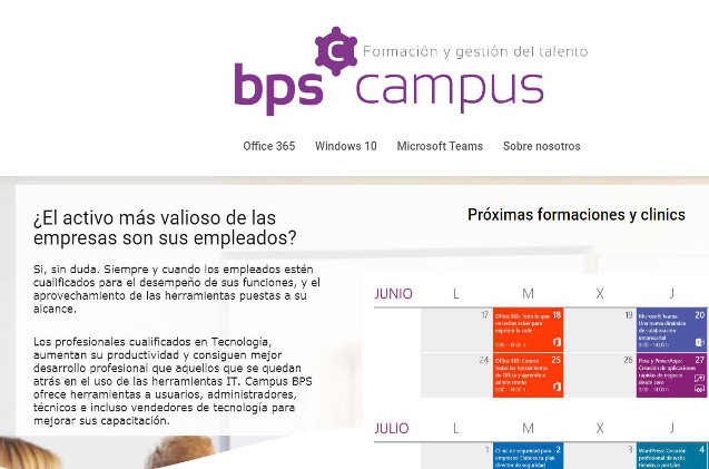 Web de Campus BPS